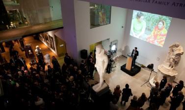 Speech in Atrium Corporate Ashmolean