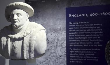 England Gallery at the Ashmolean Museum