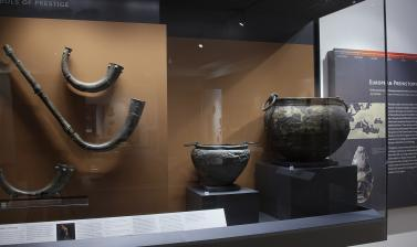 The European Prehistory Gallery at the Ashmolean Museum