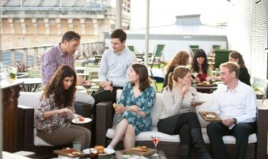 Ashmolean Venue Hire – The Rooftop Restaurant Terrace