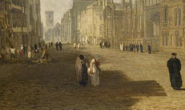 Turner's High Street (detail) by Joseph Mallord William Turner