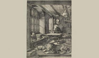 St Jerome in his Study by Albrecht Dürer