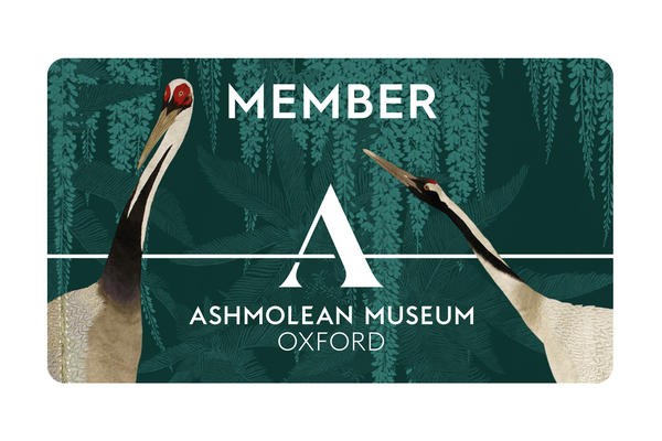 Membership Card with logos and depictions of birds