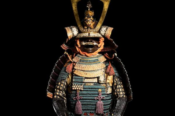 Ceremonal suit of armour for a samurai 	Ceremonal suit of armour for a samurai