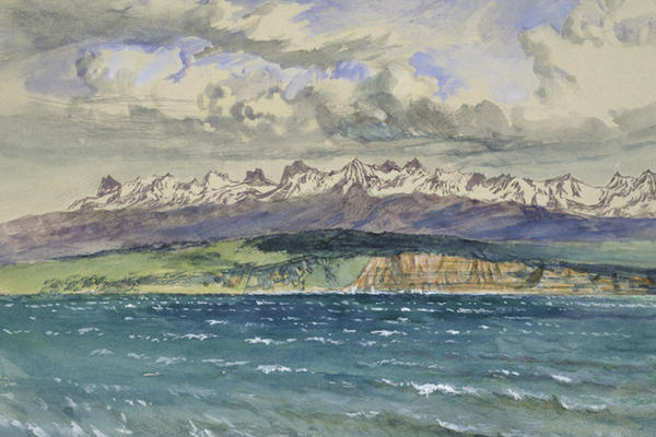 John Ruskin, Afternoon in Spring, with south Wind, at Neuchâtel