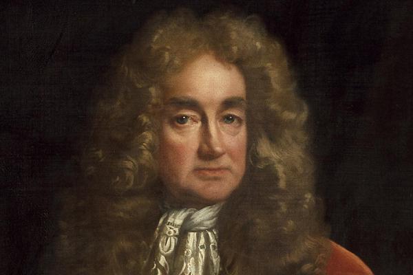 Portrait of Elias Ashmole by John Riley (detail) – The Ashmolean Story Gallery – Press Images