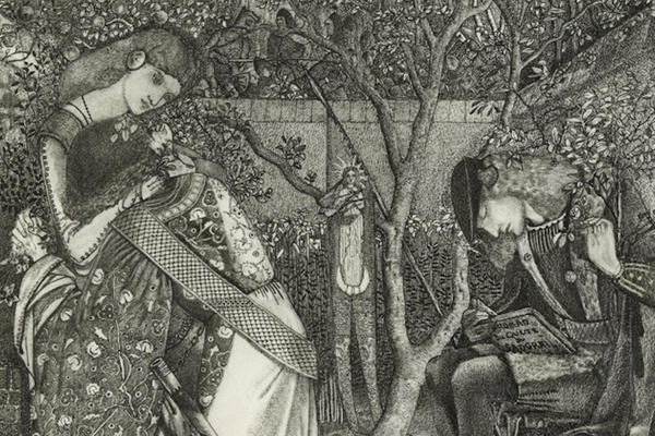 Edward Coley Burne-Jones, The Knight's Farewell