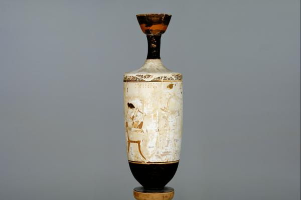 White ground lekythos by the Achilles Painter