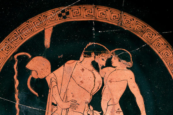 Athenian red-figure pottery cup