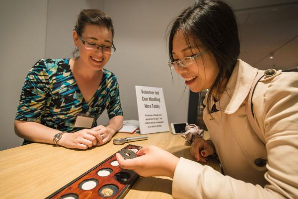 hands-on coins ashmolean anglo-saxon andvikings big weekend by ian wallman