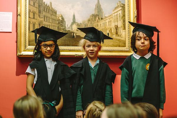 Primary School Learning at the Ashmolean Museum – Turner's Oxford
