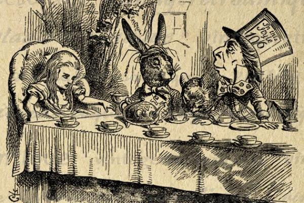 The Mad Hatters Tea Party Ashmolean Museum