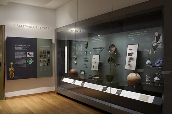 The Conservation Gallery at the Ashmolean Museum