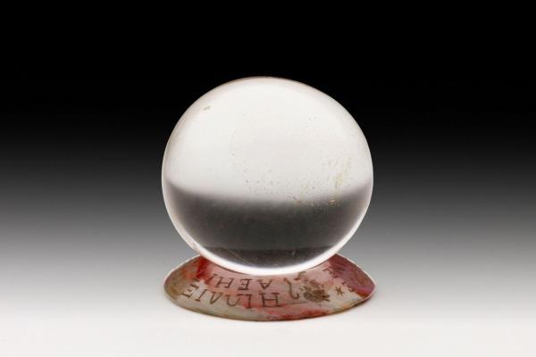 crystal ball c ashmolean museum university of oxford