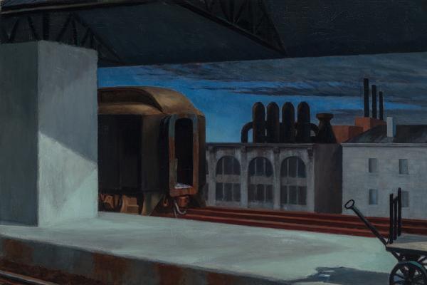 Edward Hopper (1882–1967) Dawn in Pennsylvania, 1942
