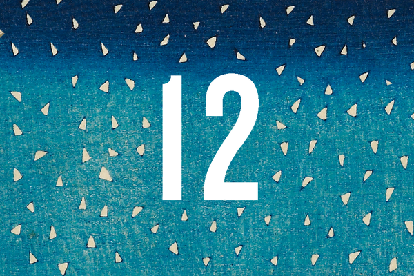 Advent Calendar Closed Door 12