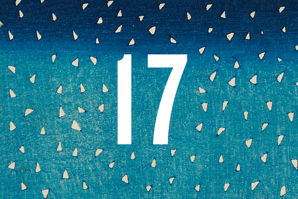 Advent Calendar Closed Door 17