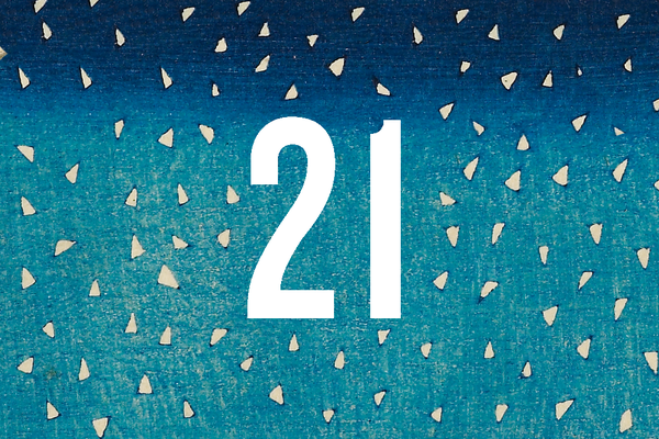 Advent Calendar Closed Door 21