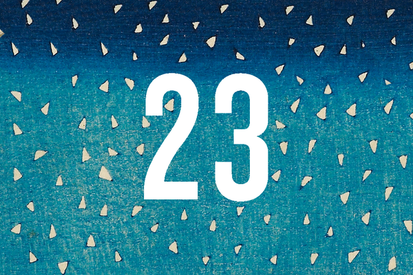 Advent Calendar Closed Door 23