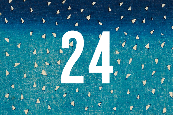 Advent Calendar Closed Door 24