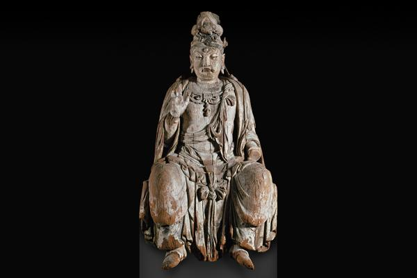 Seated figure of the Bodhisattva Guanyin
