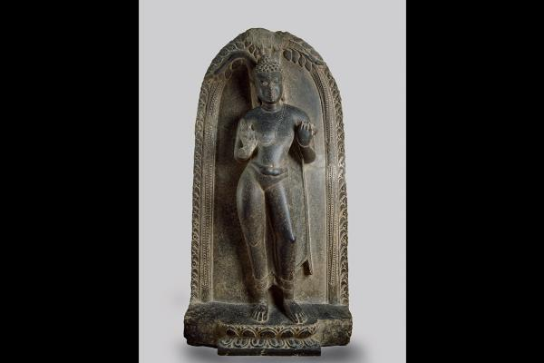 Statue of the Buddha beneath the Bodhi Tree