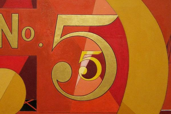 Charles Demuth – I Saw the Figure 5 in Gold – The Met
