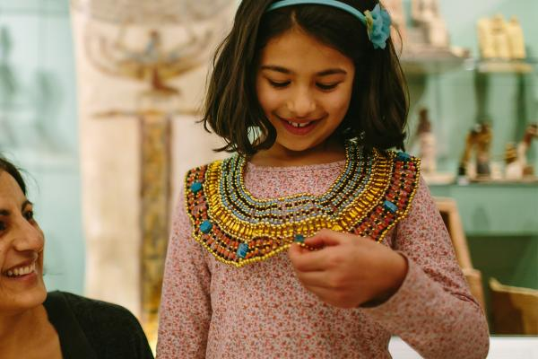 Family Fun at the Ashmolean Museum – Egypt Gallery Activities