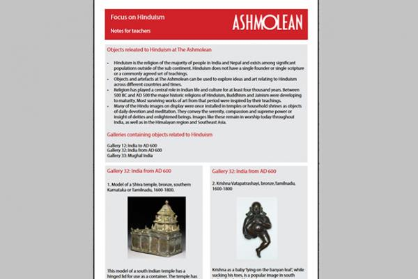 focus on hinduism