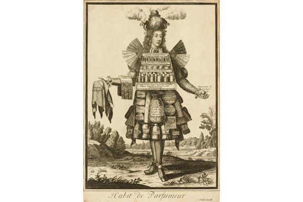 Gerard Valck after Nicolas de Larmessin II, Habit de Parfumeur