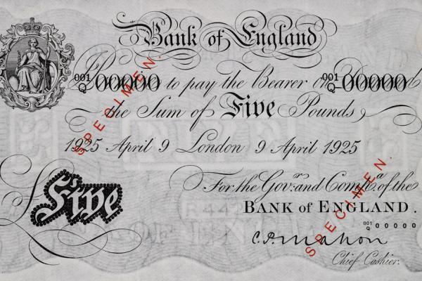 Heberden Coin Room Banknotes