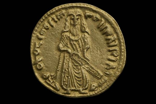STANDING CALIPH DINAR from the Ashmolean collections