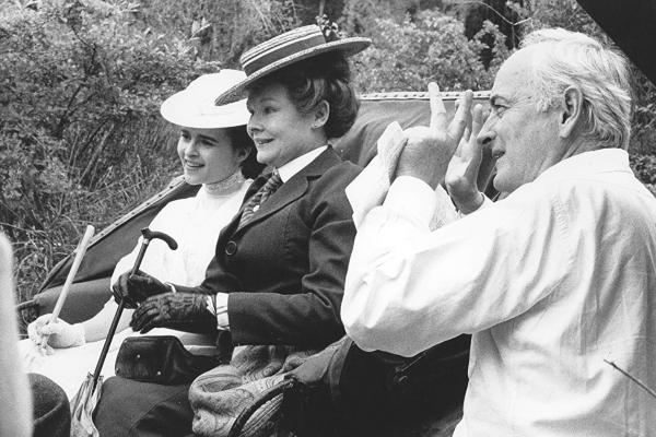 James Ivory Filming