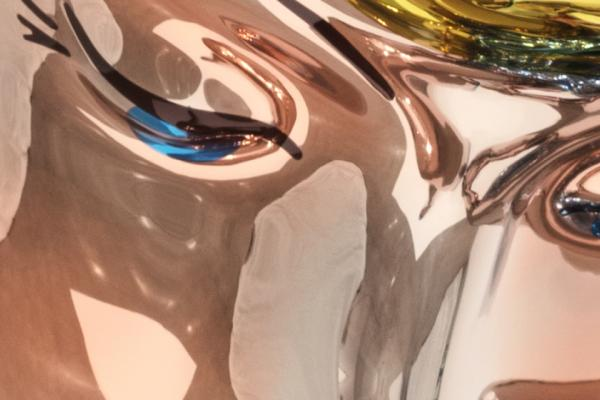 Jeff Koons at the Ashmolean