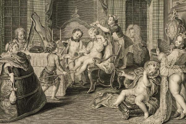 François-Bernard Lépicié after Charles-Antoine Coypel, Jeû d'Enfans