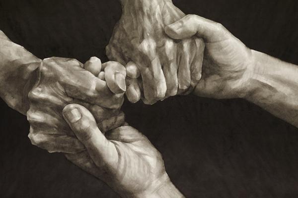 Qu Leilei (b. 1951), Friendship, 2012 © Qu Leilei