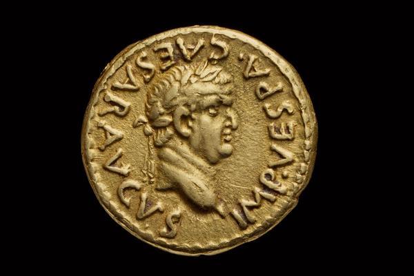 Gold coin linked to destruction of Jerusalem