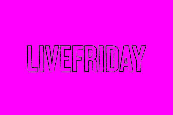 live friday logo 640x480 pink