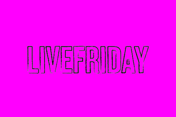 live friday logo 640x480 pink