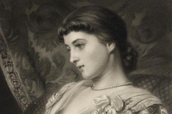 James John Chant after Sir Edward John Poynter, Mrs Langtry (Lillie Langtry)