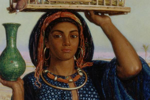 The Afterglow in Egypt by William Holman Hunt Ashmolean Museum