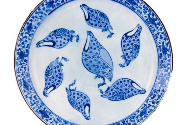 quail plate ashmolean