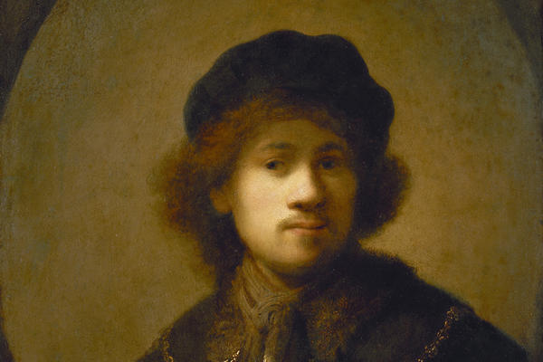 2020 Young Rembrandt Exhibition – Rembrandt, Portrait of the Artist as a Young Man, c. 1629–31 © Walker Art Gallery, National Museums, Liverpool