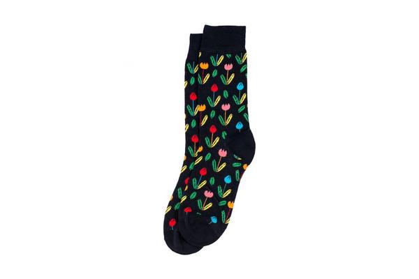 rembrandt tulip socks