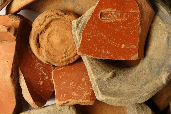 research Pottery finds from the Berkshire Downs at the Ashmolean