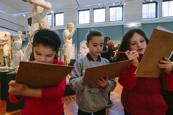 Primary School Learning at the Ashmolean Museum