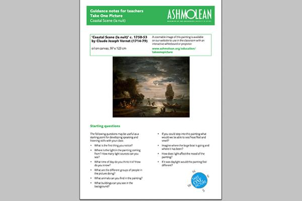learn pdf take one picture costal scene teacher
