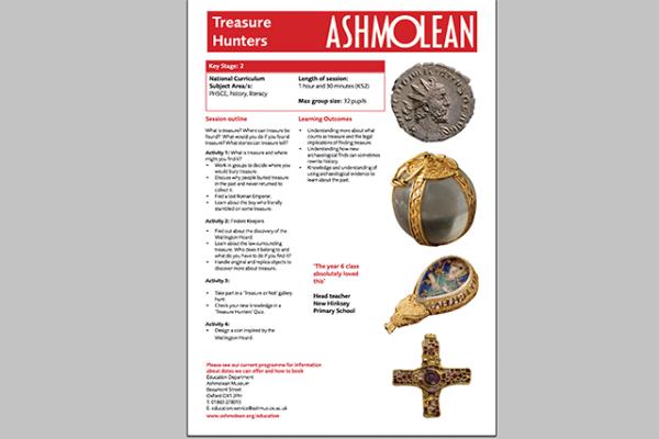 learn pdf treasure hunters