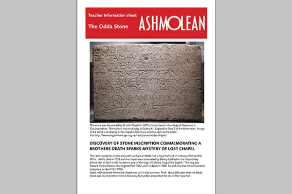 learn pdf the odda stone teacher