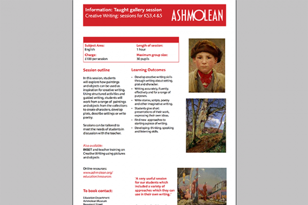 learn pdf information taught gallery session creative writing sessions for ks3 4 5